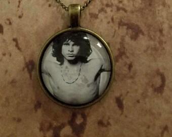 Jim Morrison pendant necklace