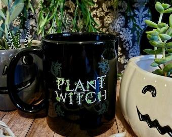 Plant Witch Ceramic Mug