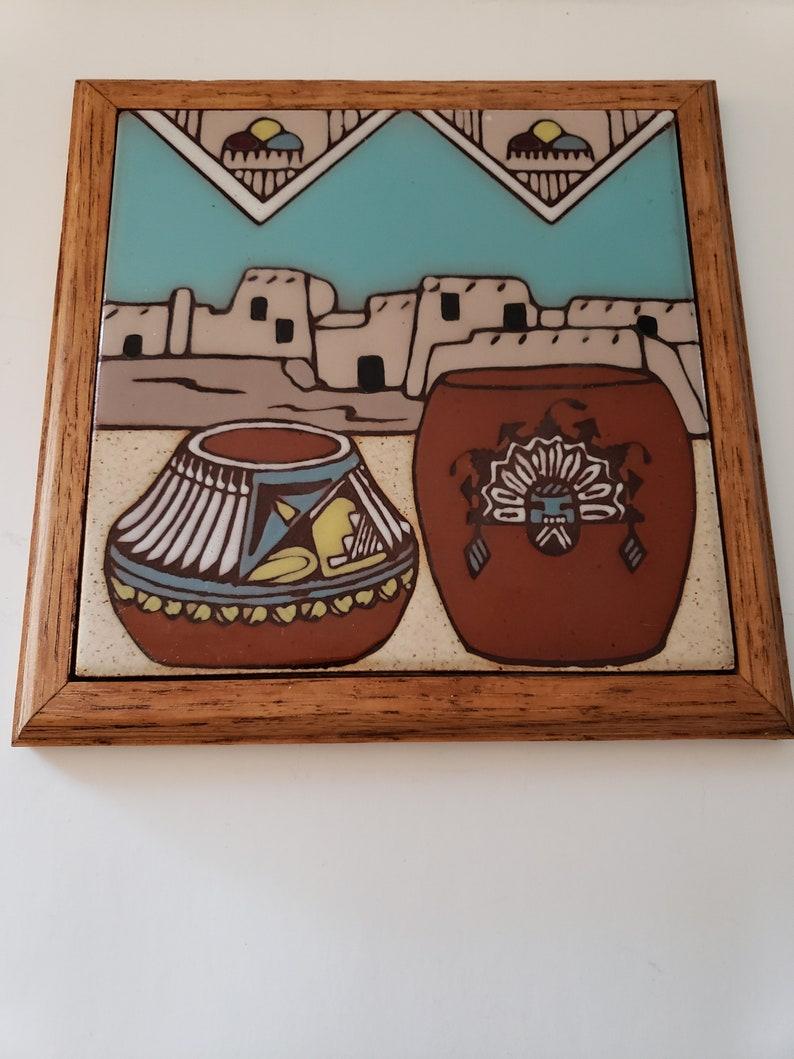 Fiesta vintage tile