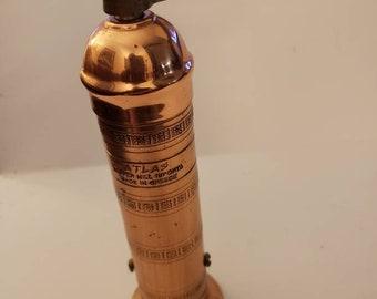 Original copper Greek peppermil