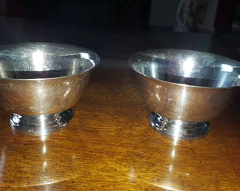 Reed & Barton silver-plated cups Paul Revere design