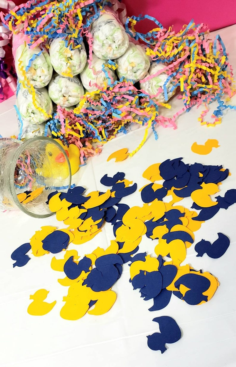 Choose Your Own Colors Duck Paper Confetti Confetti Paper Ducks Paper Table Confetti Table Scatter Confetti Table Scatter Ducks Table Decor