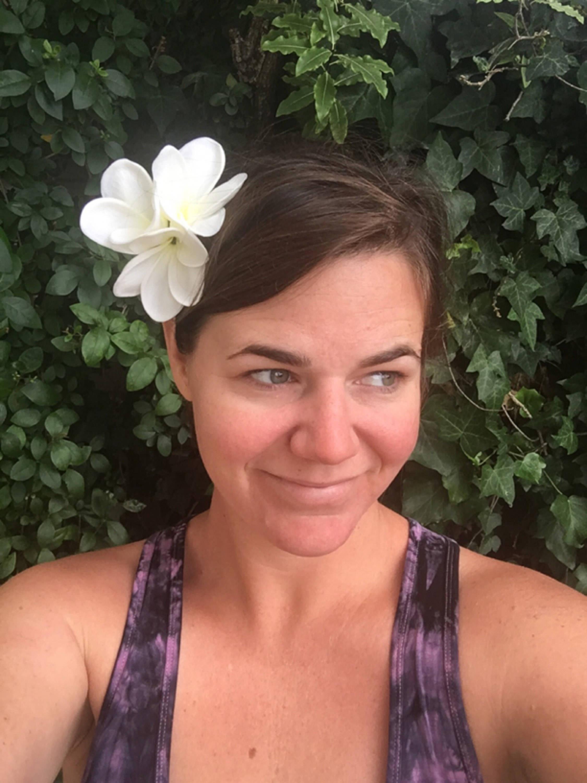 Hawaiian Headband Plumeria Headband Hawaiian Headpiece Etsy