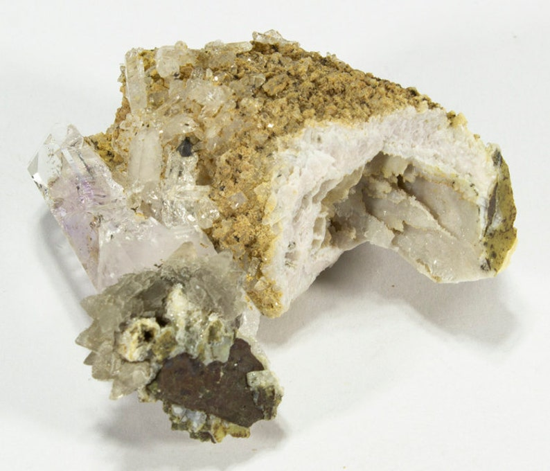 Brandberg Quartz crystal cluster specimen Namibia