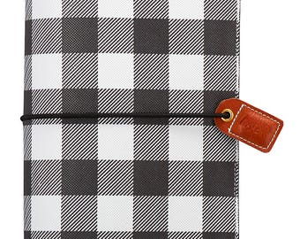Websters Pages Buffalo Plaid Standard Size Travellers Notebook