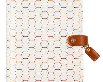 Websters Pages Copper Hexagon A5 Planner Kit