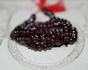 Feuerachat 8 x 12 mm Rondelle Edelstein Strang Perlen Top Qualität