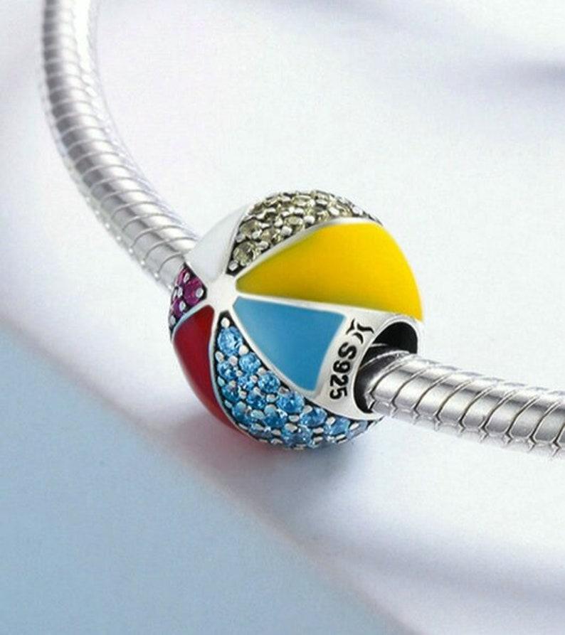 ball bracelet bead, pendant Necklace changing bead big hole bead
