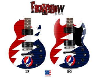 DEAD Electric Guitar - Free US Shipping - Freakshow Guitars