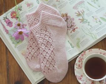 Summer Flowers sock pattern