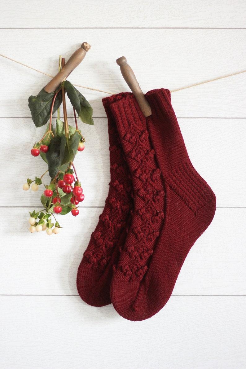 Winterberry Socks image 1