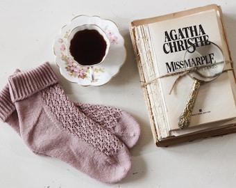 Tea & Scandal, A Miss Marple Sock pattern