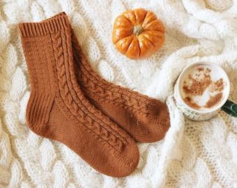 Pumpkins & Spice, An Autumn sock