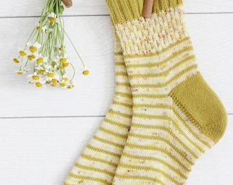 Spring Honey Sock Pattern