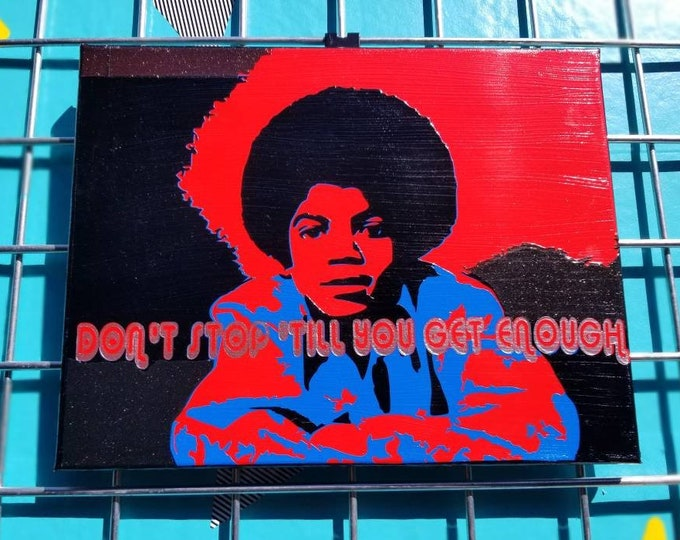 """Don't Stop"" Pop Art"