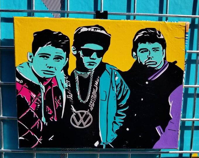 """No Sleep Till Brooklyn"" Pop Art"