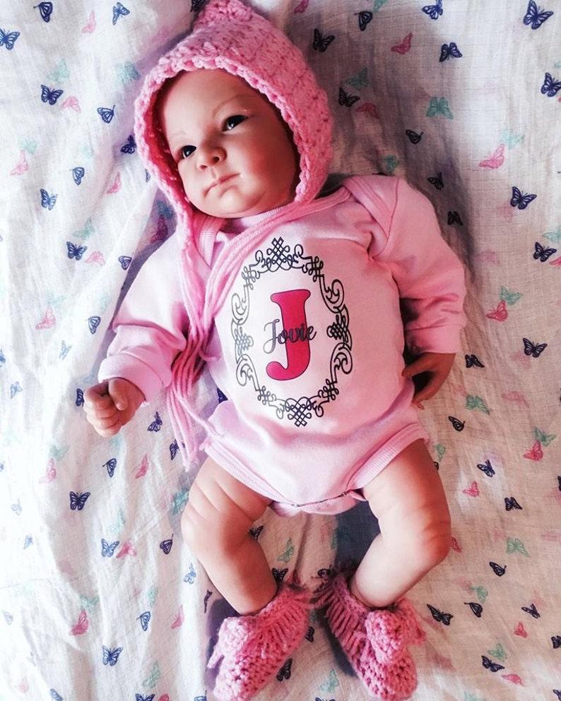 Personalized NAME Newborn Baby Infant Custom Onesie One Piece T-Shirt Bodysuit