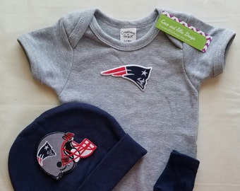 New England Patriots baby outfit-patriots baby-baby patriots baby shower  gift-patriots football outfit-patriots baby hat newborn patriots c6b966979