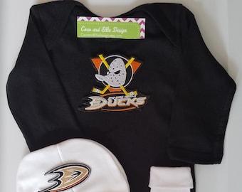 sports shoes d79ca 28e53 Anaheim ducks baby   Etsy