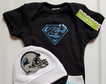 North Carolina Panthers baby boy outfit panthers take home panthers baby  shower panthers newborn panthers baby boy  carolina panthers baby 0e4b6b7a3