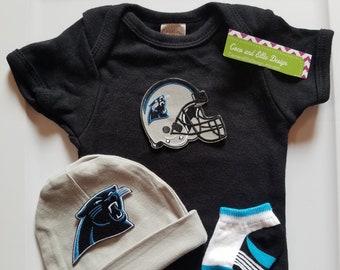 Carolina Panthers baby boy outfit carolina panthers coming home  carolina  panthers newborn  Carolina panthers take home panthers baby gift 80aaabbe5