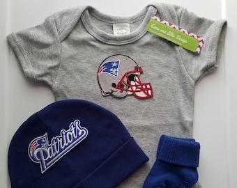 New England Patriots baby boy outfit-patriots baby shower-patriots take home  patriots newborn patriots baby gift patriots baby boy pats baby 2673918fa