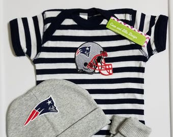 New England Patriots baby outfit-patriots take home outfit-patriots baby  shower patriots baby gift patriots baby boy patriots newborn d392c1939