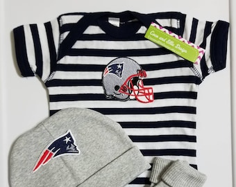 New England Patriots baby outfit-patriots take home outfit-patriots baby  shower patriots baby gift patriots baby boy patriots newborn 80f76574a