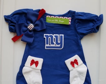 new york giants baby girl outfit  ny giants newborn  ny giants baby girl  ny  giants baby shower  ny giants take home  ny giants baby gift 895b0d9e1