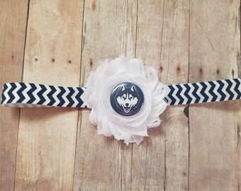 f9bb523d975 uconn huskies headband-uconn headband-university of connecticut headband-  uconn newborn-uconn baby shower-ucon take home uconn girl
