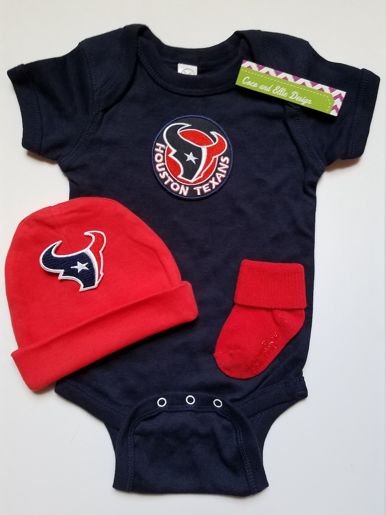 37a3c6a9 Houston Texans boy baby outfit/Houston Texans baby shower/ houston texans  newborn/houston texans take home/ texans toddler/ texans baby boy
