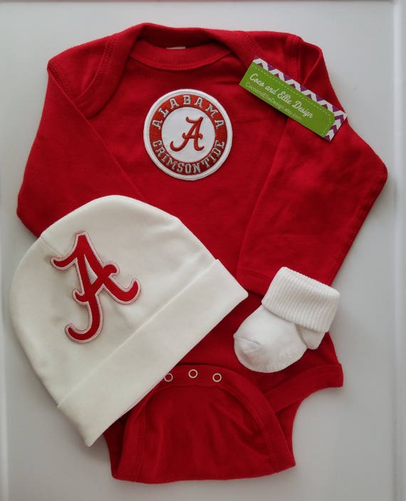 4b8018d34 Alabama baby outfit-alabama baby shower gift-bama outfit for