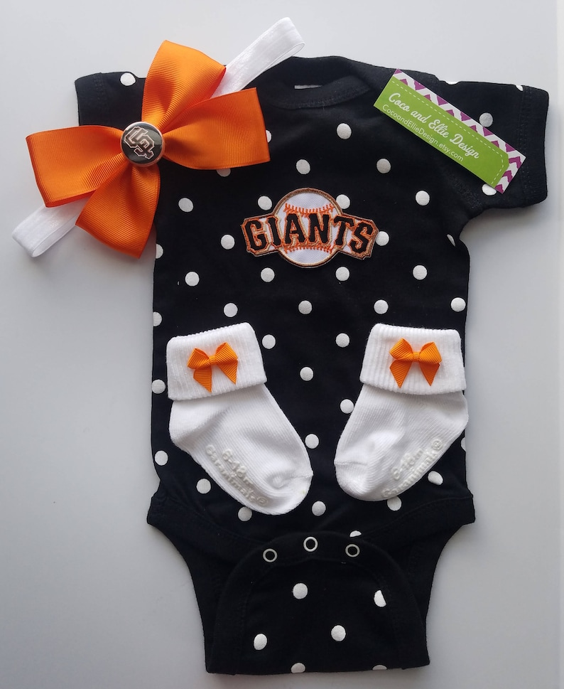2ff2a4dc San Francisco Giants baby girl outfit/Giants baby/giants bring | Etsy