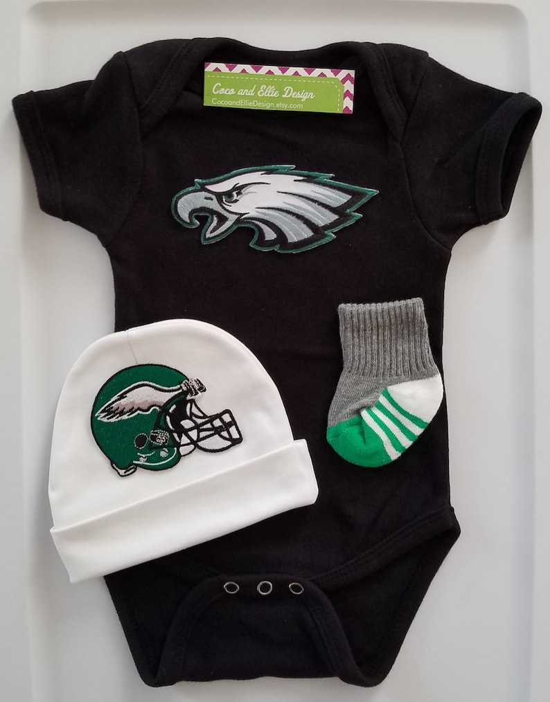 a2bfcb1a06e0d Philadelphia eagles baby outfit/philly eagles babyeagles | Etsy