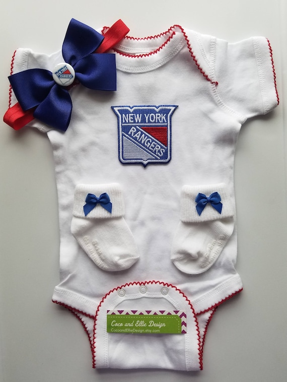 New York Rangers baby girl outfit  new york rangers take home   89f30a1a8b6e