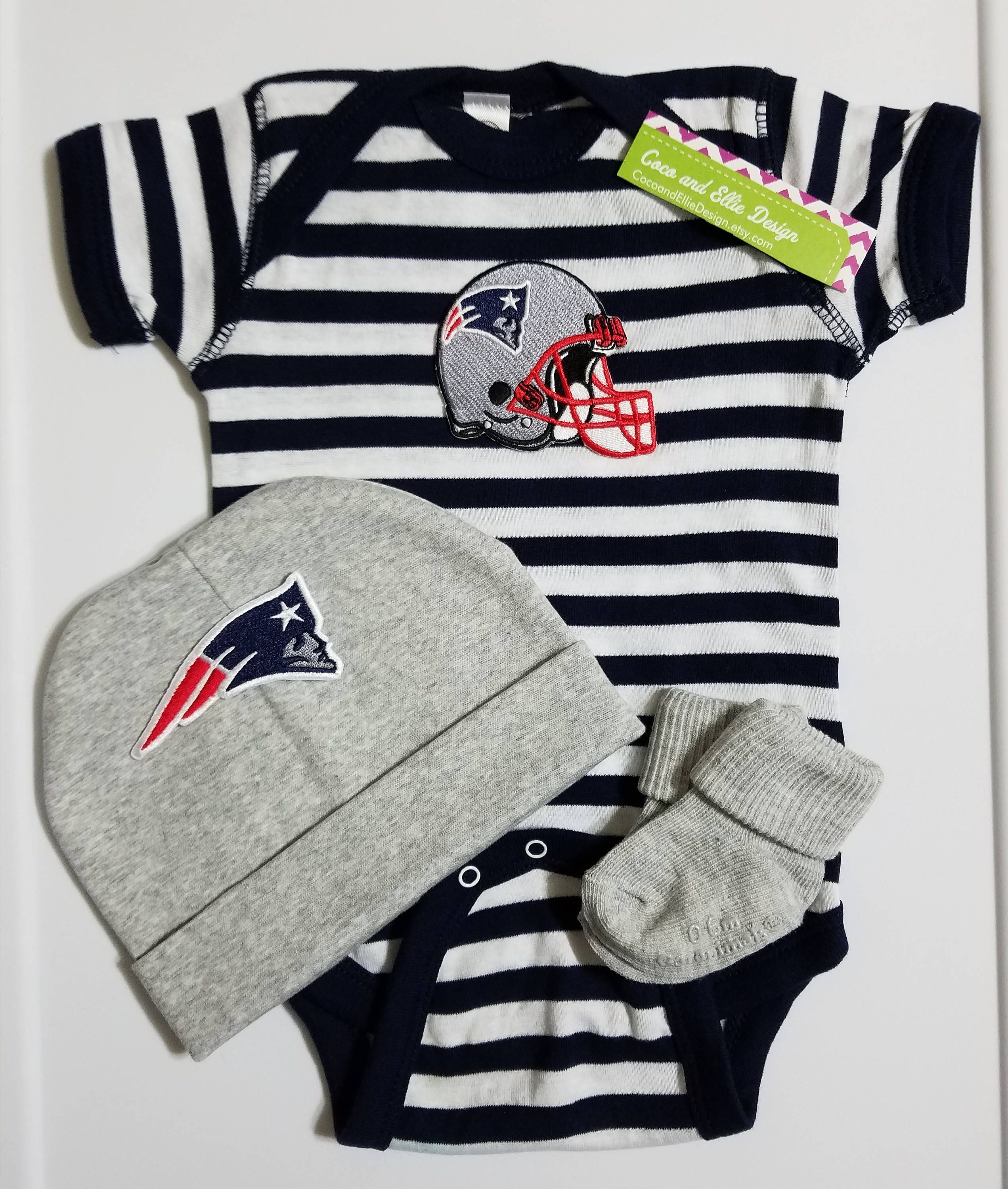 9f57389c5 New England Patriots baby outfit-patriots take home | Etsy