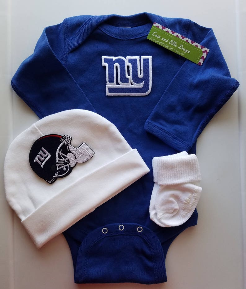 2de8ef3be New York giants baby outfit/ ny giants baby/ ny giants | Etsy