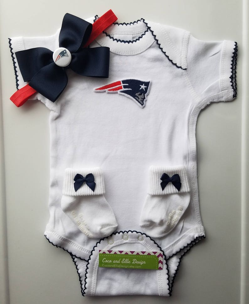 lower price with 0f659 23371 New England Patriots baby girl outfit/ patriots baby shower/patriots  newborn/ Patriots bring home/ Patriots baby girl/ patriots toddler girl