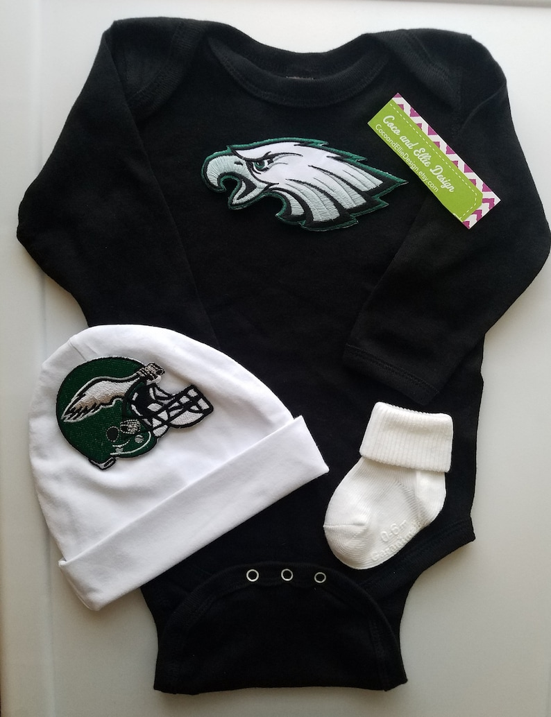 detailed look a792c b19ba Philadelphia eagles baby outfit/philly eagles baby/philly eagles take  home/eagles newborn/Philly eagles baby shower/eagles baby boy