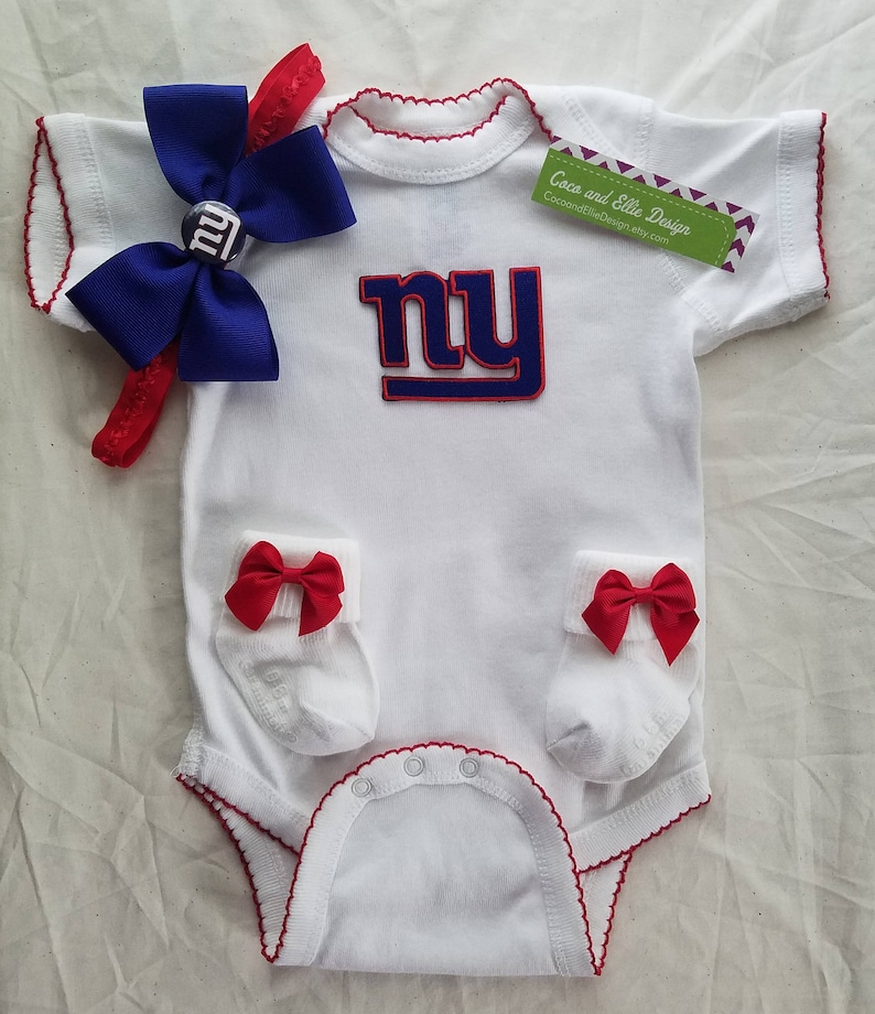 3d62ea73f New york giants baby outfit/ny giants newborn/ny giants baby | Etsy