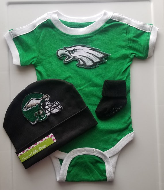 ccf4722ca Philadelphia eagles baby outfitphilly eagles babynewborn