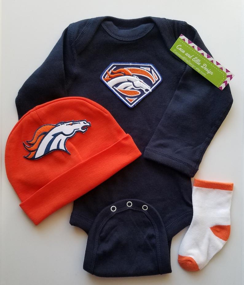 c802a69f Denver Broncos baby boy outfit-denver broncos baby shower-denver broncos  baby boy gift-denver bronco newborn-broncos baby boy/denver baby