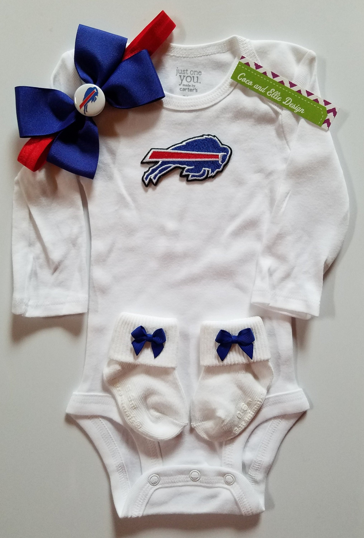 Buffalo bills baby outfit buffalo bills girl buffalo bills  2debc39a79d5