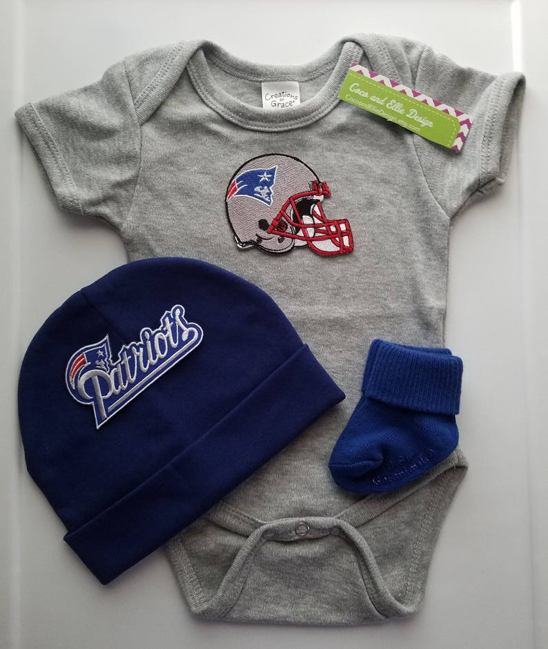 New England Patriots baby boy outfit-patriots baby  a9082cd4c