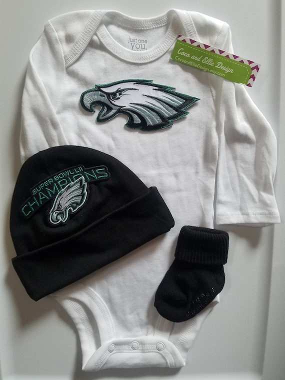 d2dc3912c Philadelphia eagles baby outfitphilly eagles babyeagles