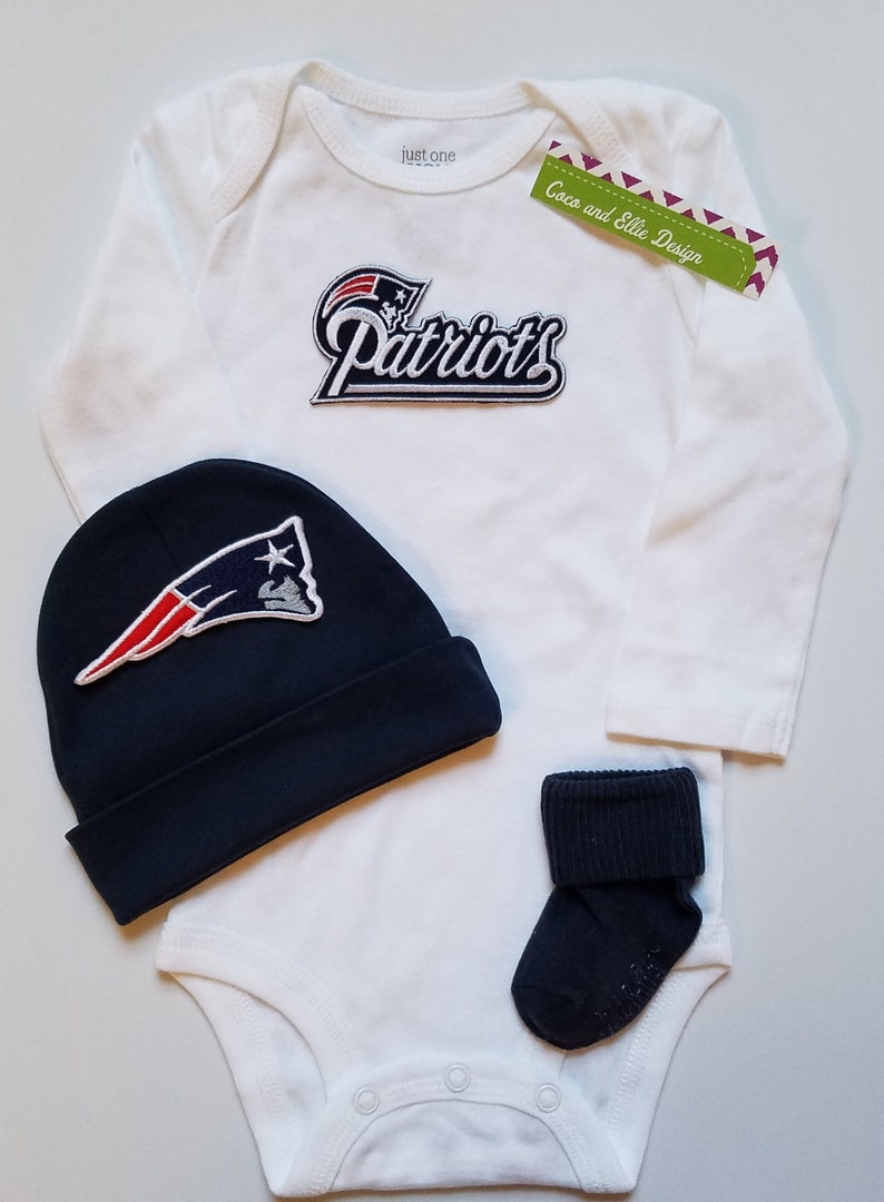 new concept df0d2 9373f New England Patriots baby boy outfit-patriots baby shower-patriots take  home/patriots newborn/patriots baby boy/patriots baby gift