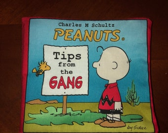 """Cloth Baby Book, """"Peanuts, Tips From the Gang"""""""
