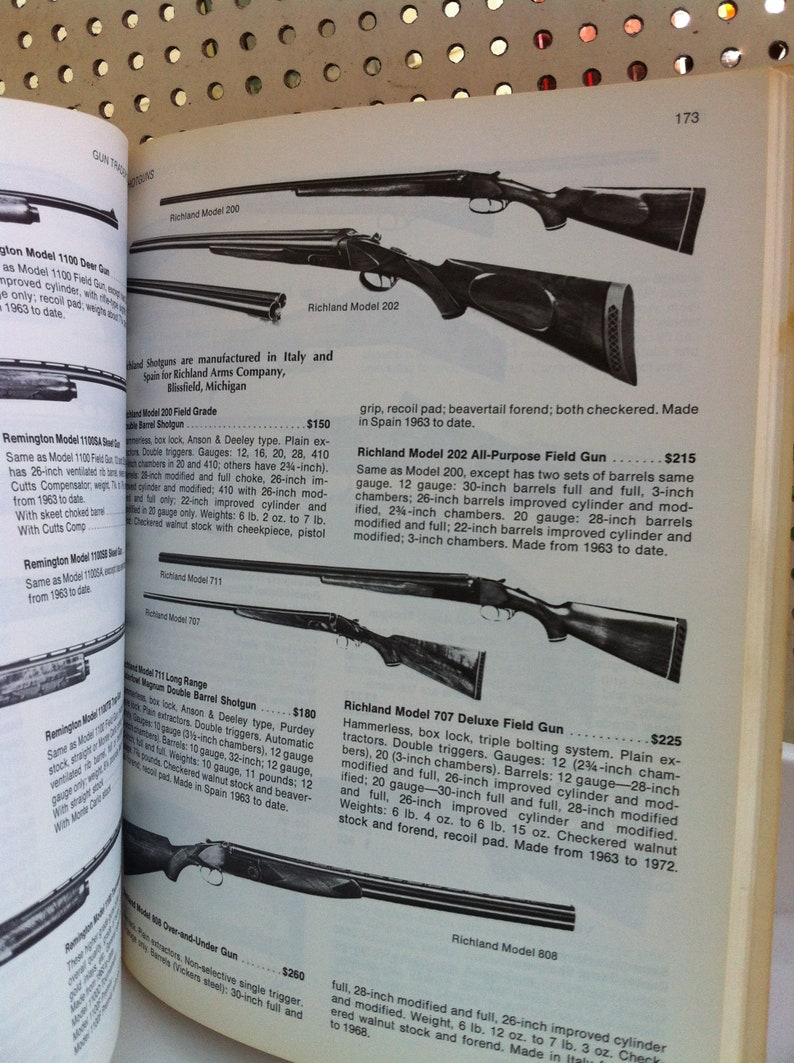 GUN TRADER'S Complete Fully Illustrated Guide to Identification of Modern  Firearms with Current 1975 Market Values by Paul Wahl Paperback