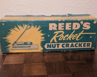 "Vintage Reed's ""Rocket"" Nut Cracker - with box - R300 - Made in USA"