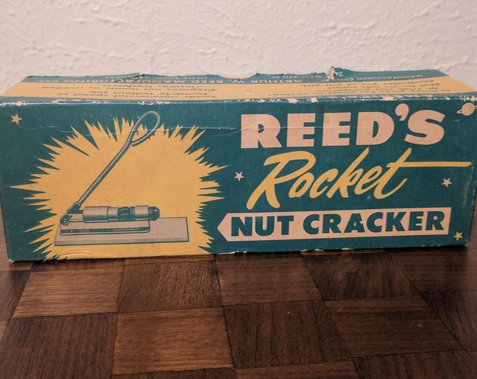 """Vintage Reed's """"Rocket"""" Nut Cracker - with box - R300 - Made in USA"""